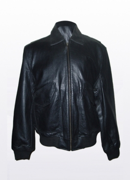 Leather Bulletproof Jacket (Model FBJ002)