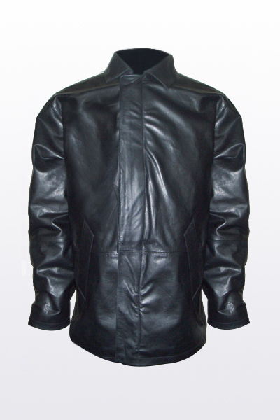 Leather Bulletproof Jacket FBJ006