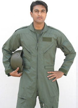 Flyer Coverall & Gloves